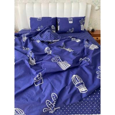 Постельное белье BestLine бязь gold BL-150129 Мексиканский кактус синий