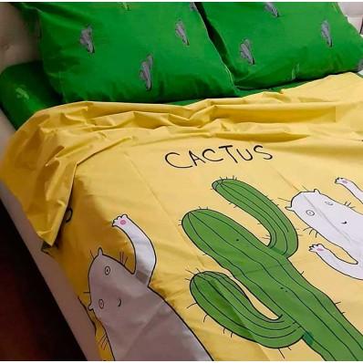 Постельное белье BestLine бязь gold BL-150187 Кактус зеленый