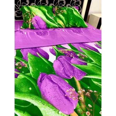 Постельное белье BestLine бязь gold BL-15050 Фан-фан тюльпан