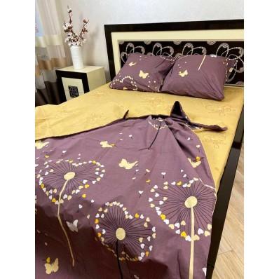 Постельное белье BestLine бязь gold BL-150175 Одуванчик на фиолет