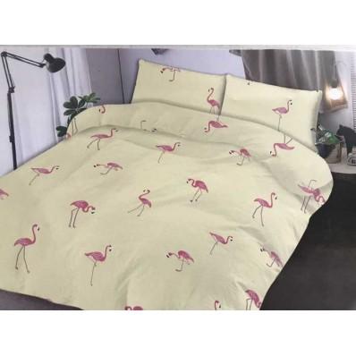 Комплект постельного белья Крис-Пол бязь Фламинго (150673)