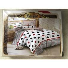 Комплект постельного белья Крис-Пол бязь В горошек (153053)