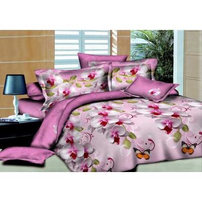 Комплект постельного белья Крис-Пол бязь Бабочки (154030)