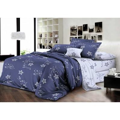 Комплект постельного белья Крис-Пол бязь на резинке Звездопад (144075)