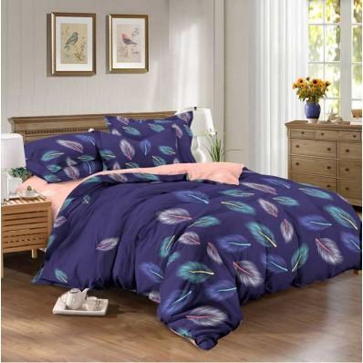 Комплект постельного белья Крис-Пол бязь на резинке Перышки (144086)