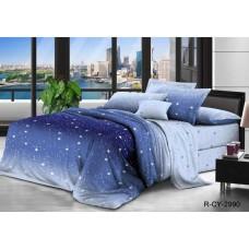 Комплект постельного белья Крис-Пол бязь на резинке Звезды (144096)