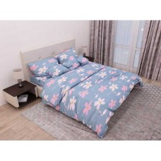 Комплект постельного белья Крис-Пол бязь Большие Фламинго (154109)
