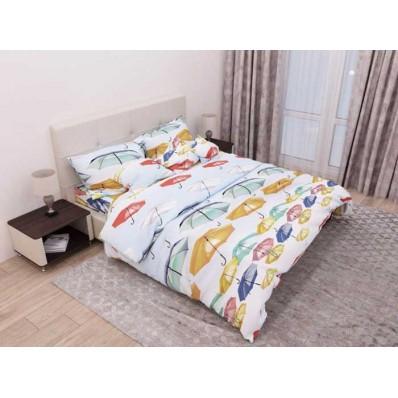 Комплект постельного белья Крис-Пол бязь Разноцветные Зонтики (154114)
