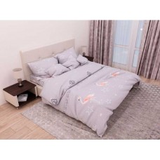 Комплект постельного белья Крис-Пол бязь Flamingo (154117)