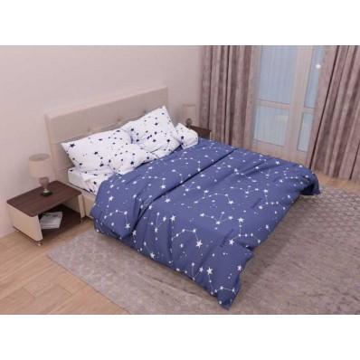 Комплект постельного белья Крис-Пол бязь на резинке Sky (144135)