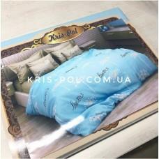 Комплект постельного белья Крис-Пол бязь Love you (154155)