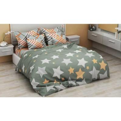 Комплект постельного белья Крис-Пол бязь Звезды (154160)