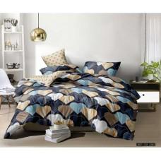 Комплект постельного белья Крис-Пол бязь на резинке Two Hearts (144178)
