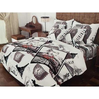 Комплект постельного белья Крис-Пол бязь на резинке Big Ben (157034)