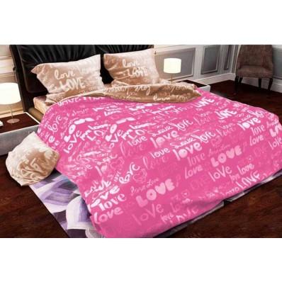 Комплект постельного белья Крис-Пол бязь Love is (157277)