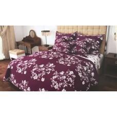 Комплект постельного белья Крис-Пол бязь Белые Цветы (157303)