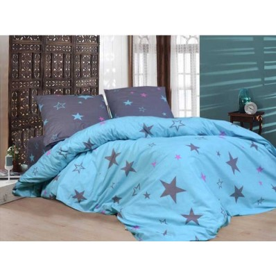 Комплект постельного белья Крис-Пол бязь на резинке Звезды (147351)