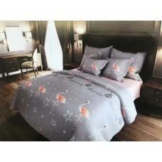 Комплект постельного белья Крис-Пол бязь Большие Фламинго (157452)