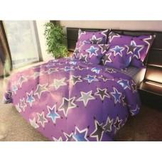 Комплект постельного белья Крис-Пол бязь Большие Звезды На Розовом (157458)