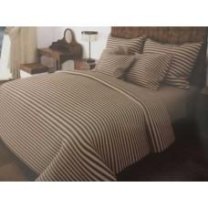 Комплект постельного белья Крис-Пол бязь Коричневый в полоску (159905)