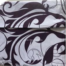 Комплект постельного белья Крис-Пол бязь на резинке Фиолетовые Вензеля (149945)