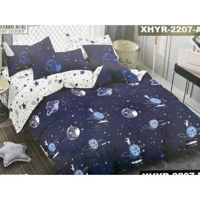 Комплект постельного белья Крис-Пол ранфорс Космос (182207)