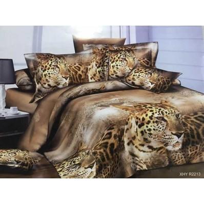 Комплект постельного белья Крис-Пол ранфорс Леопарды (182213)