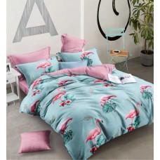 Комплект постельного белья Крис-Пол ранфорс Розовые Фламинго (183180)