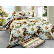 Комплект постельного белья Крис-Пол ранфорс Золотые Розы (18805)
