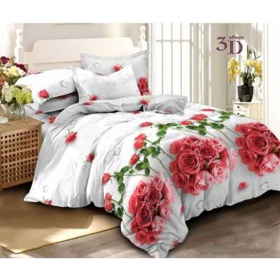 Комплект постельного белья Крис-Пол ранфорс Букеты Роз (18809)