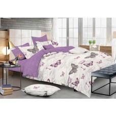 Комплект постельного белья Крис-Пол сатин люкс Бабочки (7118)