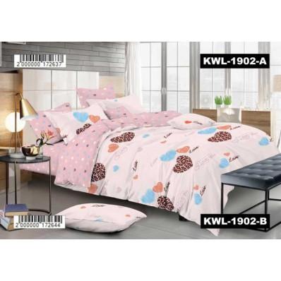 Комплект постельного белья Крис-Пол сатин люкс ТриСердечка (71902)