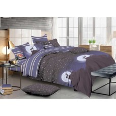 Комплект постельного белья Крис-Пол сатин люкс Вечерное Сияния (7490)
