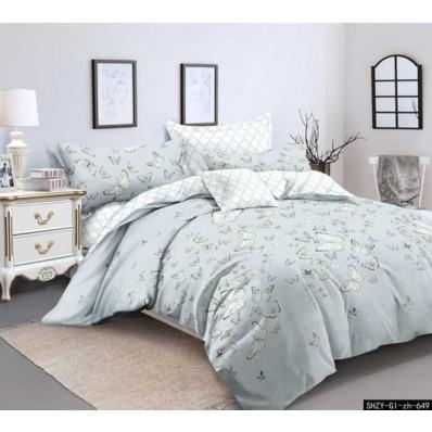 Комплект постельного белья Крис-Пол сатин люкс Бабочки (7655)