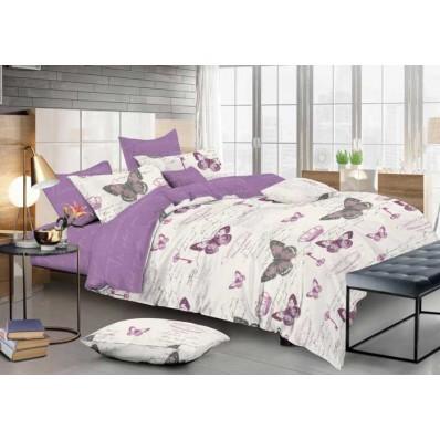 Комплект постельного белья Крис-Пол сатин Большие Бабочки (118)