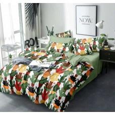 Комплект постельного белья Крис-Пол сатин Разноцветные Кактусы (17511)