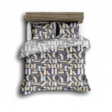 Комплект постельного белья Крис-Пол сатин Большие Буквы (17513)