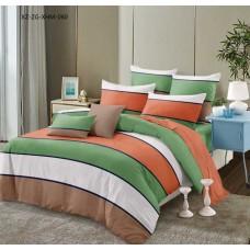 Комплект постельного белья Крис-Пол сатин Разноцветные Полосы (1776)