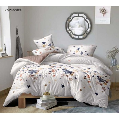 Комплект постельного белья Крис-Пол сатин Звезды (1782)