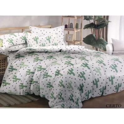 Комплект постельного белья Крис-Пол сатин Кактусы (333)