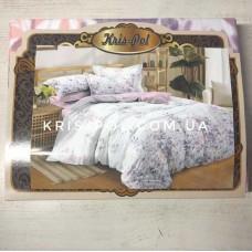 Комплект постельного белья Крис-Пол сатин Сирень (482)