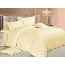 Комплект постельного белья Крис-Пол страйп-сатин Молочный (540507)