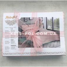 Комплект постельного белья Крис-Пол страйп-сатин Персиковый (541207)