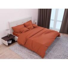 Комплект постельного белья Крис-Пол страйп-сатин Кирпичный (541340)