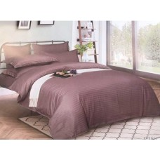 Комплект постельного белья Крис-Пол страйп-сатин Грязный Фиолет (541511)