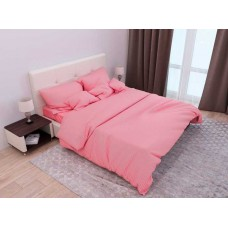 Комплект постельного белья Крис-Пол страйп-сатин Коралловый (541640)