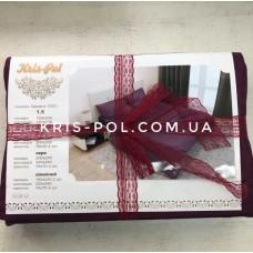 Комплект постельного белья Крис-Пол страйп-сатин Темно Фиолетовый (541716)