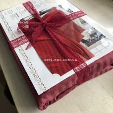 Комплект постельного белья Крис-Пол страйп-сатин Красный (541934)