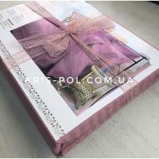 Комплект постельного белья Крис-Пол страйп-сатин Розовый (542305)