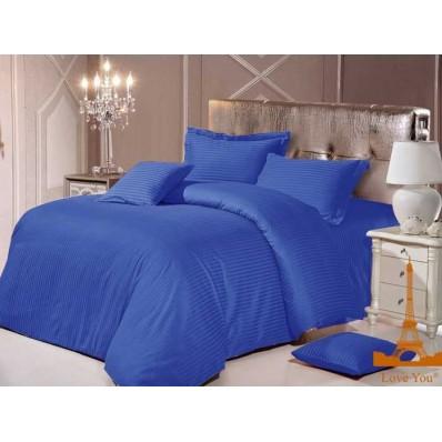 Комплект постельного белья Крис-Пол страйп-сатин Электрик (544030)